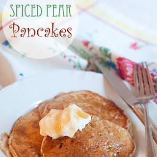 Spiced Pear Pancakes