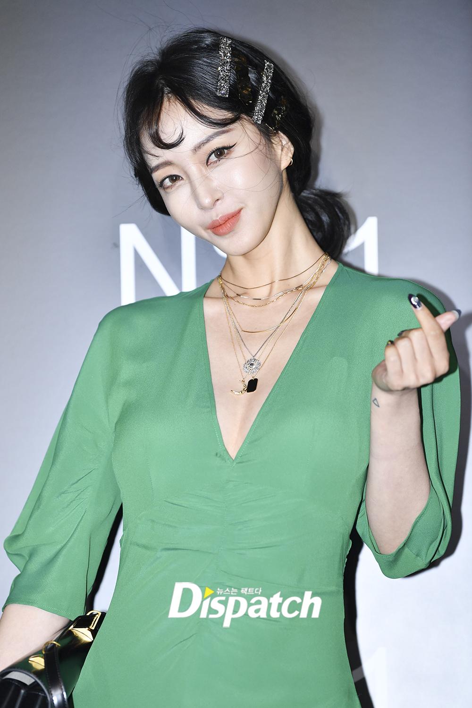 han ye seul green dress 6