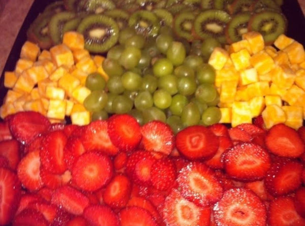 Fresh Fruit And Cheese Tray Recipe