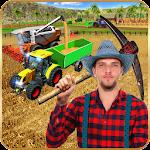 Virtual Farmer Tractor: Modern Farm Animals Game Icon