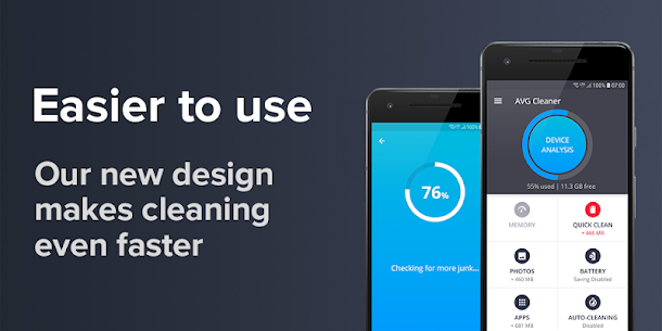 AVG Cleaner – Speed, Battery, Memory & RAM Booster v4.12.1 [Pro] APK 1