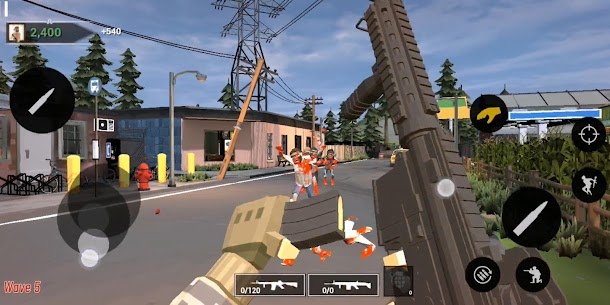 Deadly Land: First Person Zombie Shooter – FPS Apk Download For Android 5