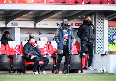 """Mbaye Leye ziet een werkpunt: """"Net zoals tegen Oostende en Club Brugge"""""""