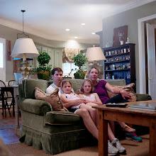 Photo: title: Anne, John, Kate & Emma Freeman, Houston, Texas date: 2012 relationship: friends, art, met through Amy Munger years known: 0-5