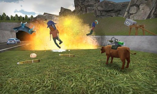 Bull Simulator 3D- screenshot thumbnail