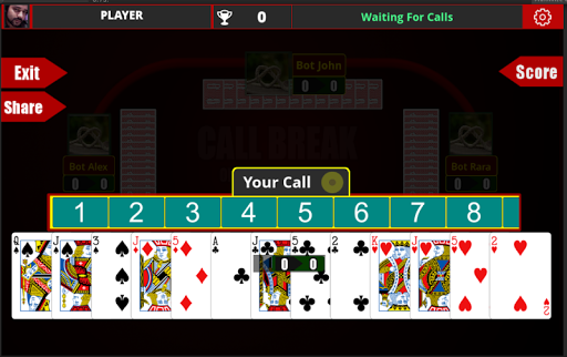 Call Break Card Game  9