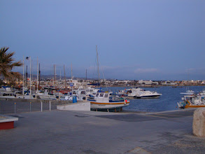 Photo: View of the Paphos harbour