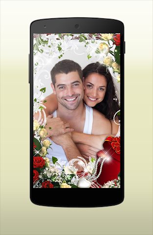 android New Frames Photo Valentine Day Screenshot 2