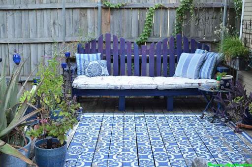 DIYの裏庭家具デザイン