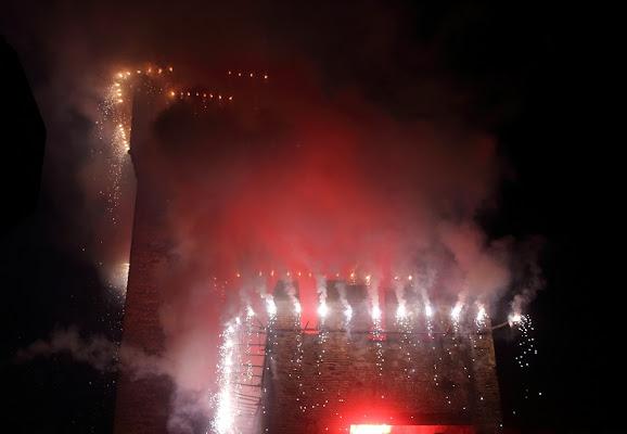 Incendio della Rocca degli Alberi di Camon Alice