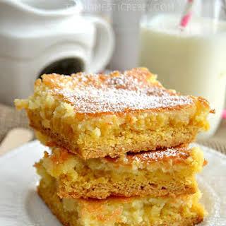 The Best Gooey Butter Cake Bars.