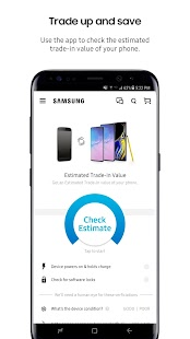 Shop Samsung Screenshot