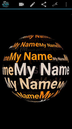 My Name in 3D Live Wallpaper 2.77 Apk for Android 5