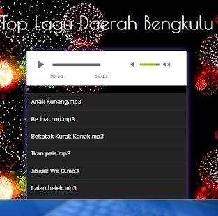 Song of Bengkulu Region - náhled
