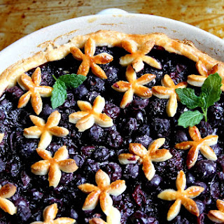 Blueberry Mint Pie Recipes