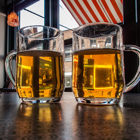 A Couple of Pints by David Pilasky - Food & Drink Alcohol & Drinks ( england, pint, beer, cold, thirsty, drafts, united kingdom, pwccolddrinks )