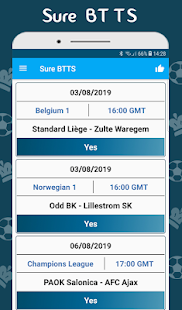 Download BTTS Both Teams To Score - Bet Predictions For PC Windows and Mac apk screenshot 1