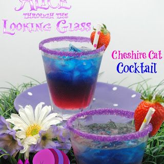 Cheshire Cat Inspired Cocktail.