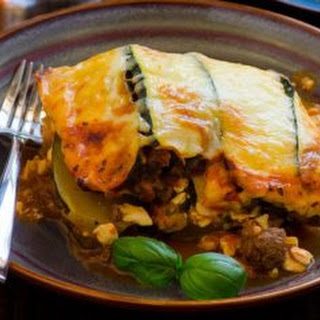 Vegetarian Slow Cooked Clean Eating Lasagna