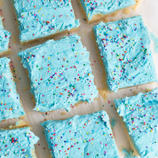 Frosted Sugar Cookie Bars.
