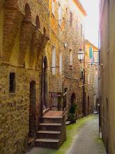 Photo: Montemarano, Tuscany - Street. More at  http://blog.kait.us/2013/03/terme-di-saturnia.html