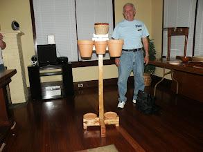 Photo: A flower pot holder