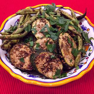 Grilled Za'Atar Zucchini Recipe