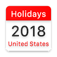 United States Federal and State Holidays 2018