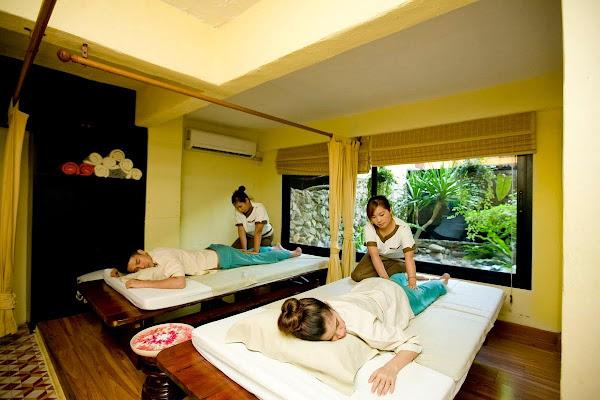 Get a traditional Thai massage