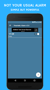 Futuristic Alarm v2.0 - Personal News Anchor- screenshot thumbnail