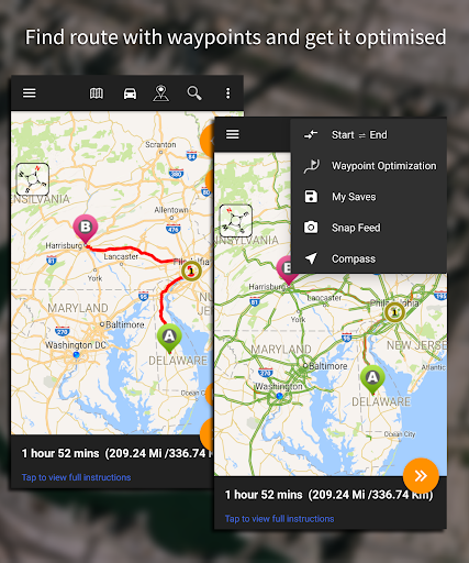 Driving Route Finderu2122 - Find GPS Location & Routes 2.4.0.3 screenshots 9