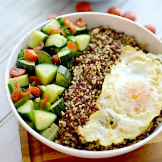 Breakfast Quinoa Bowl.