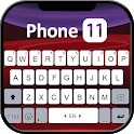 Red Phone 11 Keyboard Theme icon