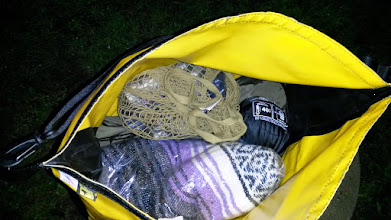 """Photo: Everything fit so nicely in this """"small"""" duffel bag."""