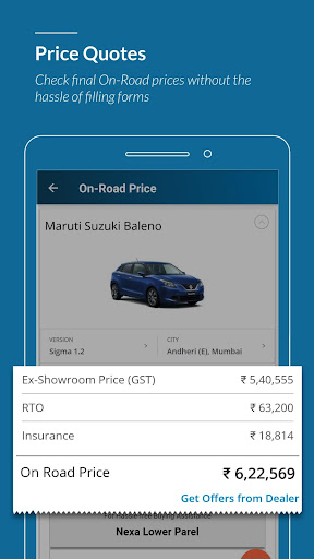 CarWale - Buy New Cars, Used Cars in India  screenshots 2