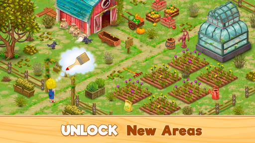 Granny's Farm: Free Match 3 Game - screenshot