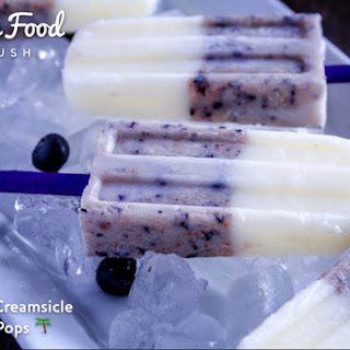 Coconut Creamsicle Berry Pops ?
