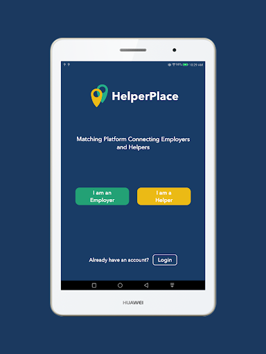Screenshot for HelperPlace in Hong Kong Play Store