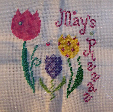 Photo: Completed 13 March 2010. May's Pizzaz (2006) designed by Natalie Legener of The Silver Needle. Stitched on 10ct Tula using various specialty threads.