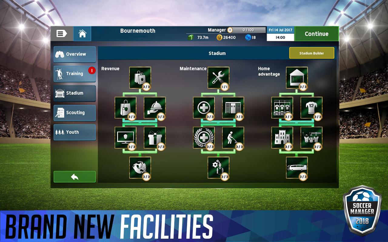 Soccer Manager 2018- screenshot