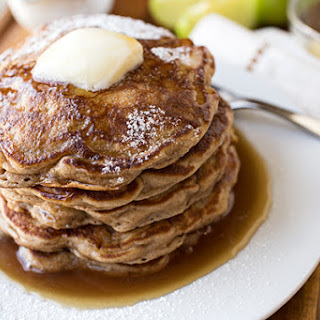 Granny Smith's Thick & Fluffy Apple Flapjacks with Warm, Buttery Cider Syrup