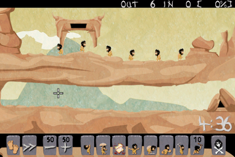 Caveman HD ( Lemmings way )- screenshot thumbnail