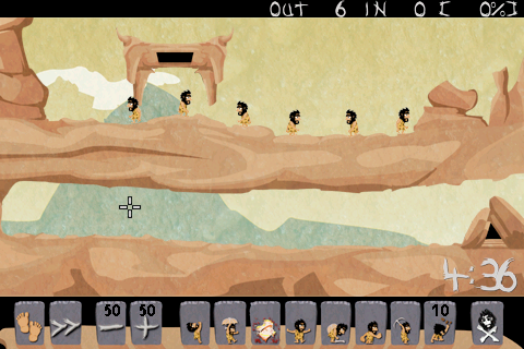 Caveman HD ( Lemmings way )- screenshot