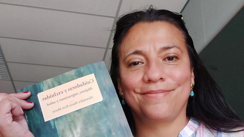 La investigadora de la Universidad de Almería (UAL), Alexandra María Ríos.