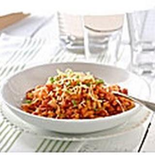 Macaroni Met Milde Pastasaus, Zalm, Sinaasappel En Basilicum