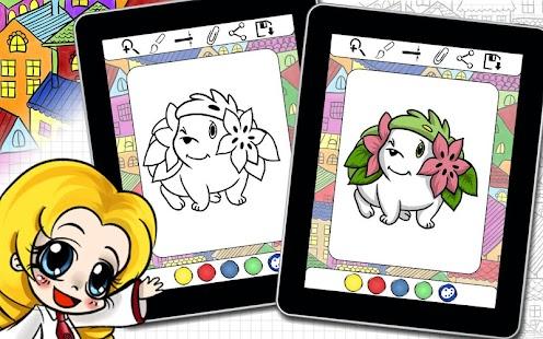 Download Färbung Buch Pokemons Mini Monster Figuren APK 1.0 APK für ...