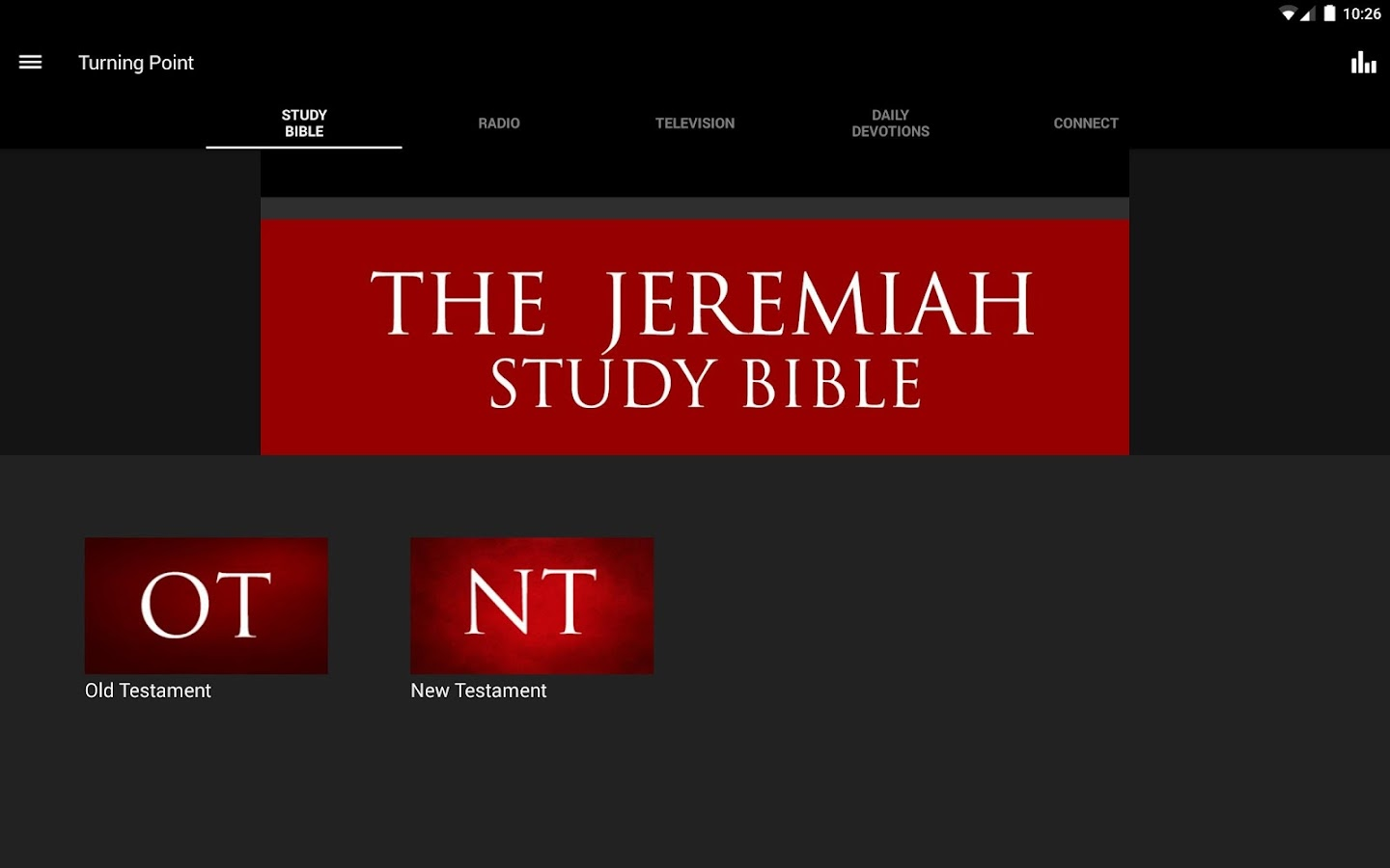 Turning Point Ministries- screenshot