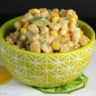 Creamy Avocado Corn Salsa