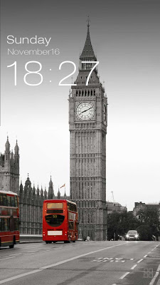 ZUI Locker Theme - London - screenshot