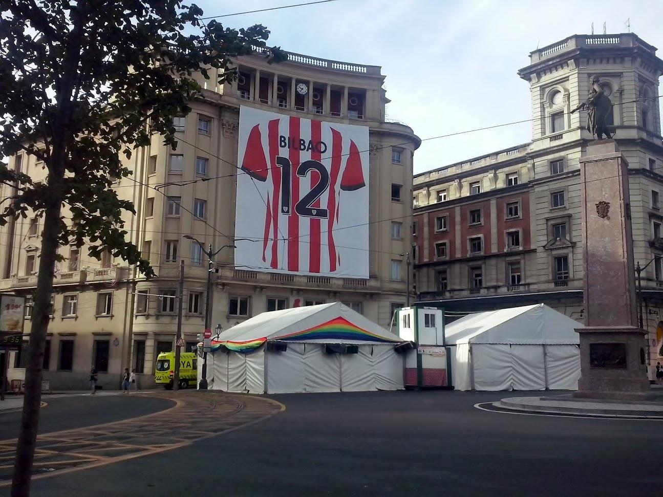 camiseta gigante athletic de Bilbao número 12 campeones